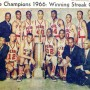 Pearl High Team of 1966 — State Champions